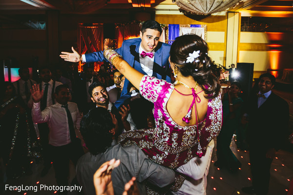 Reception in Atlanta, GA South Asian Wedding by FengLong Photography