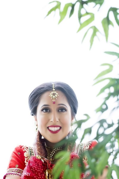 Hair & Makeup in Long Island, NY Indian Wedding by MaxPhoto NY