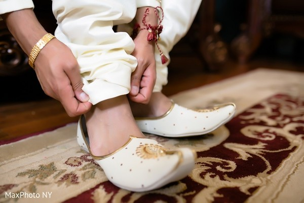 Groom Getting Ready in Long Island, NY Indian Wedding by MaxPhoto NY