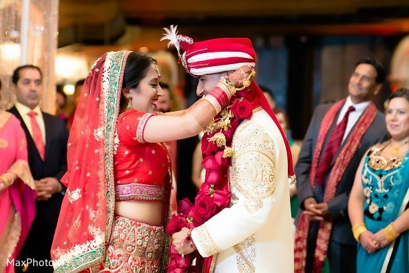 Ceremony in Long Island, NY Indian Wedding by MaxPhoto NY