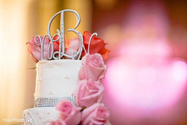 Cake Topper in Long Island, NY Indian Wedding by MaxPhoto NY