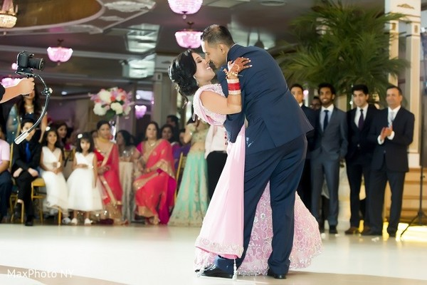 Reception in Long Island, NY Indian Wedding by MaxPhoto NY