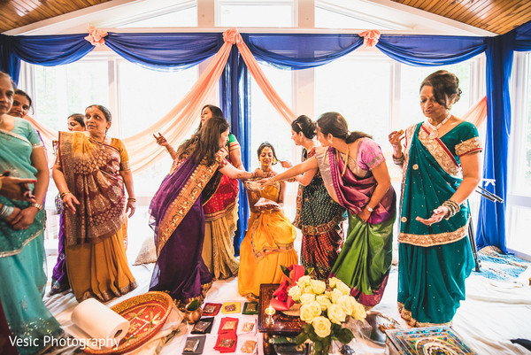 Mehndi in Charlotte, NC Indian Wedding by Vesic Photography