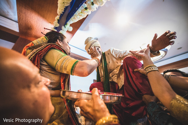 Milni in Charlotte, NC Indian Wedding by Vesic Photography