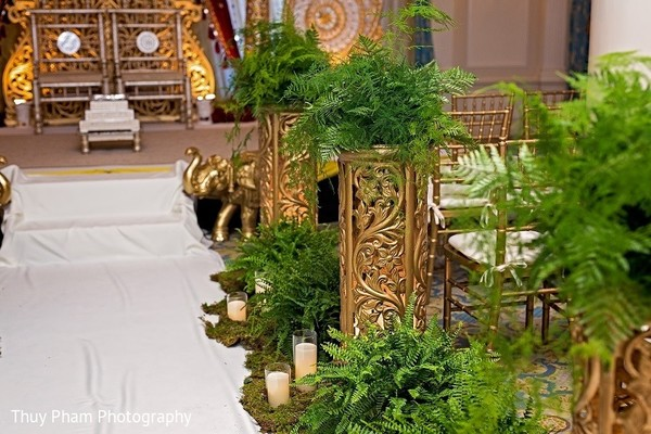 Floral & Decor in Boston, MA Indian Fusion Wedding by Thuy Pham Photography