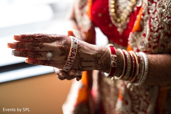 Getting Ready in Atlanta, GA Indian Wedding by Events by SPL