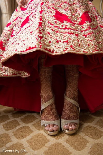Mehndi & Shoes in Atlanta, GA Indian Wedding by Events by SPL