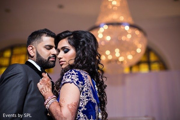 Reception Portrait in Atlanta, GA Indian Wedding by Events by SPL