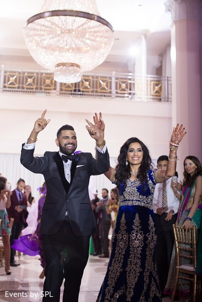 Reception in Atlanta, GA Indian Wedding by Events by SPL