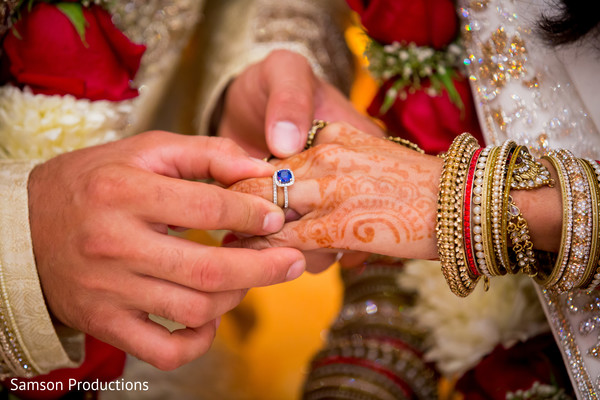 Ceremony in St. Louis, MO Indian Wedding by Samson Productions