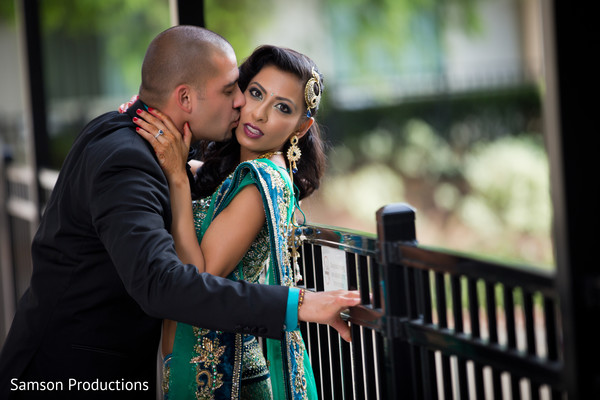 Reception Portraits in St. Louis, MO Indian Wedding by Samson Productions