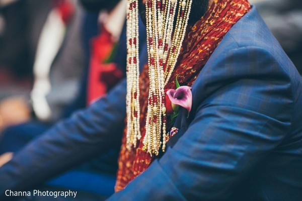 Ceremony in Toronto, Canada Sikh Indian Wedding by Channa Photography