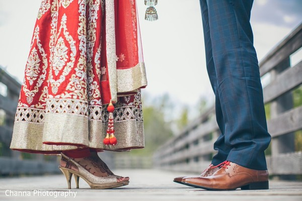 First Look in Toronto, Canada Sikh Indian Wedding by Channa Photography