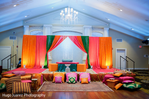 Floral & Decor in New Fairfield, NJ Pakistani Wedding by Hugo Juarez Photography