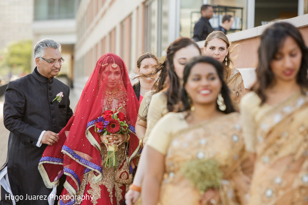 Ceremony in New Fairfield, NJ Pakistani Wedding by Hugo Juarez Photography