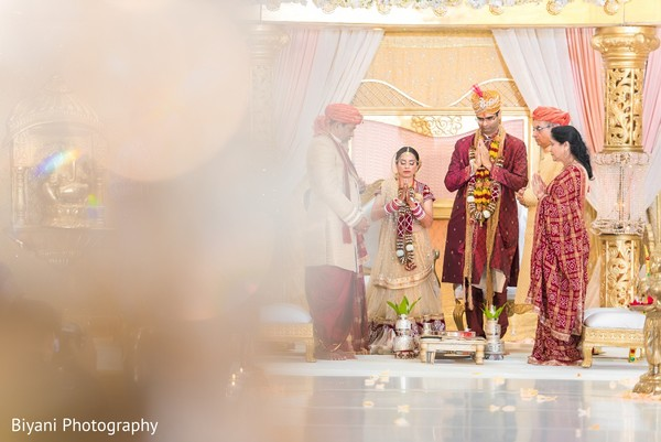 Ceremony in Houston, TX Indian Wedding by Biyani Photography
