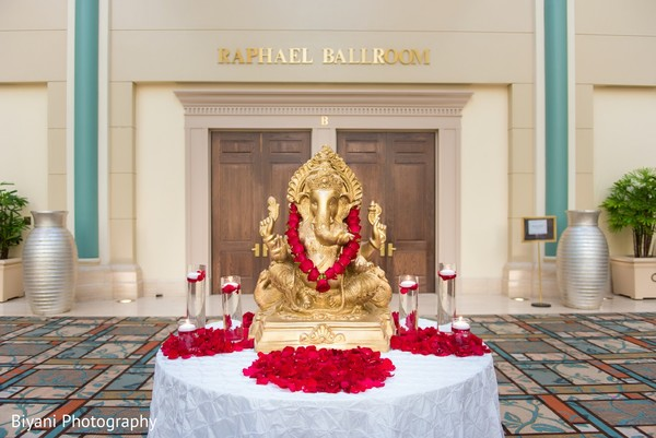 Ceremony Details in Houston, TX Indian Wedding by Biyani Photography