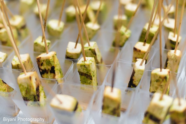 Appetizers in Houston, TX Indian Wedding by Biyani Photography