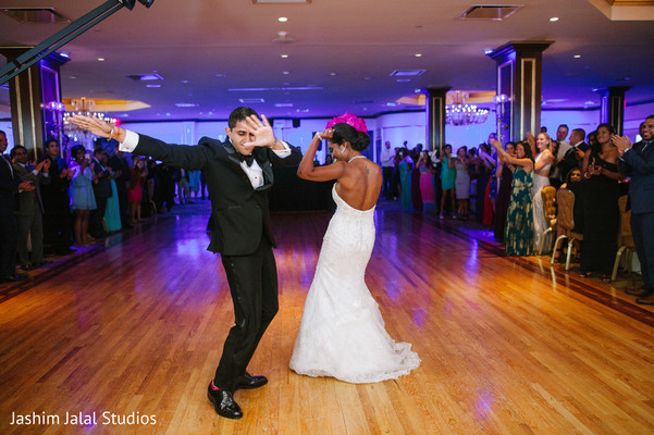 First Dance in New Rochelle, NY Hindu Fusion Wedding by Jashim Jalal Studios