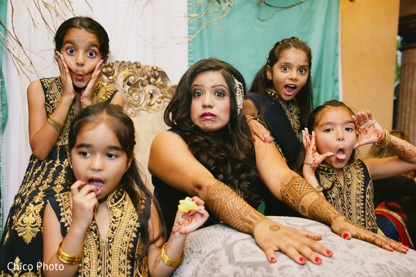 Mehndi Party in Norwalk, CA Indian Wedding by Chico Photo