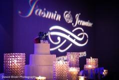 Reception Lighting & Wedding Cake