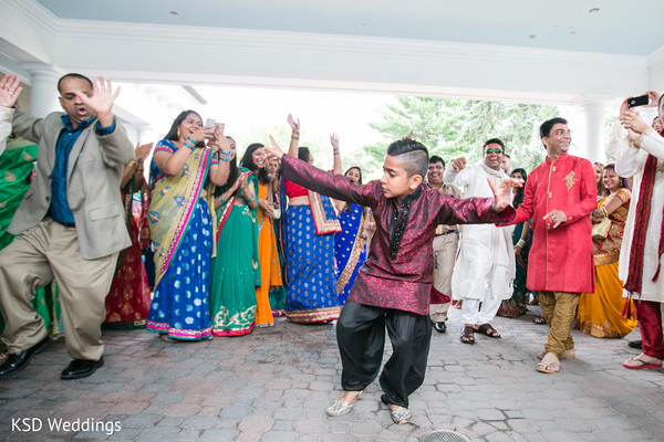Baraat in Danbury, CT Indian Wedding by KSD Weddings