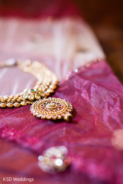 Bridal Jewelry in Danbury, CT Indian Wedding by KSD Weddings