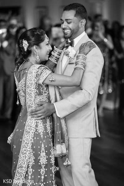 First Dance in Danbury, CT Indian Wedding by KSD Weddings
