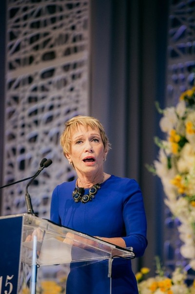 Engage!15 Speaker Barbara Corcoran in Maharani Style at Engage!15 at the Four Seasons Resort Orlando!