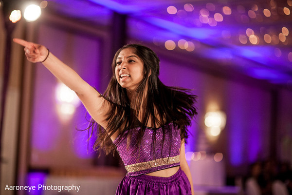 Performance in Long Beach, CA Indian Wedding by Aaroneye Photography