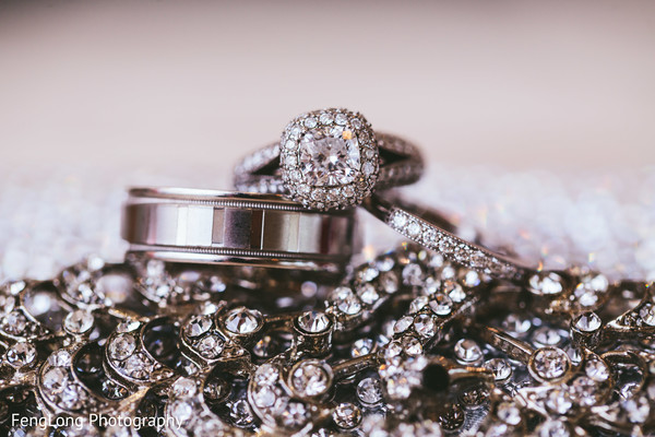 Wedding Rings in Atlanta, GA Pakistani Wedding by FengLong Photography