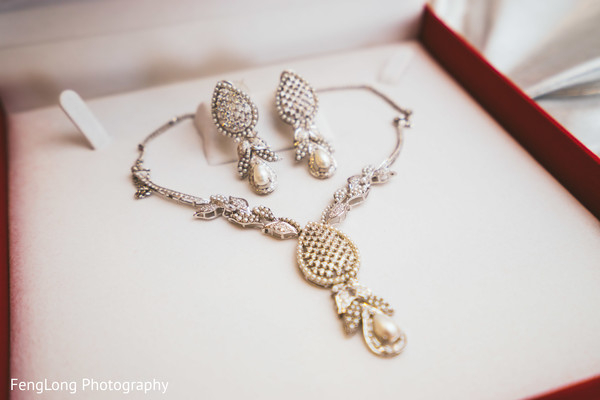 Bridal Jewelry in Atlanta, GA Pakistani Wedding by FengLong Photography