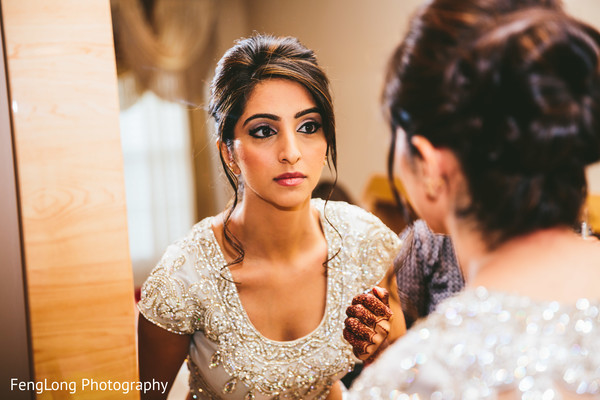 Getting Ready in Atlanta, GA Pakistani Wedding by FengLong Photography