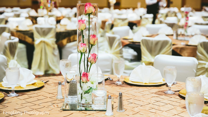 Reception Decor in Atlanta, GA Pakistani Wedding by FengLong Photography