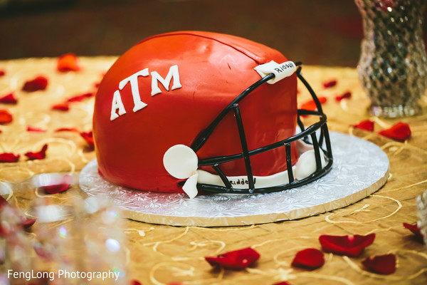 Groom's Cake in Atlanta, GA Pakistani Wedding by FengLong Photography