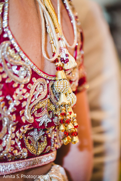 Getting Ready in Orlando, FL Indian Fusion Wedding by Amita S. Photography
