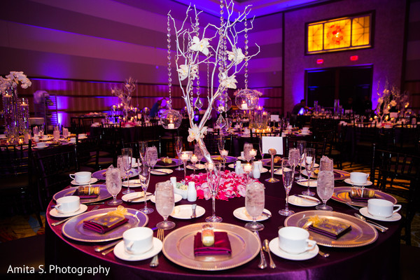 Floral & Decor in Orlando, FL Indian Fusion Wedding by Amita S. Photography