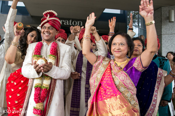 Baraat in Mahwah, NJ Indian Wedding by KSD Weddings