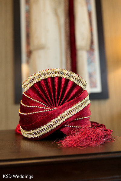 Pagri in Mahwah, NJ Indian Wedding by KSD Weddings