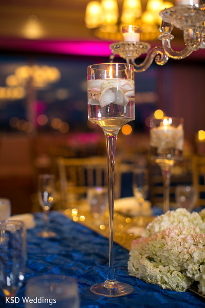 Reception Decor in Mahwah, NJ Indian Wedding by KSD Weddings
