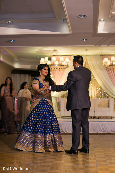 First Dance in Mahwah, NJ Indian Wedding by KSD Weddings