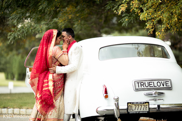 Wedding Portraits in Mahwah, NJ Indian Wedding by KSD Weddings