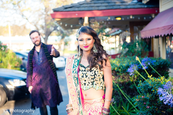 Pre-Wedding Portrait in San Jose, CA Sikh Fusion Wedding by VA Photography