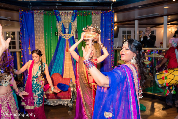Sangeet in San Jose, CA Sikh Fusion Wedding by VA Photography