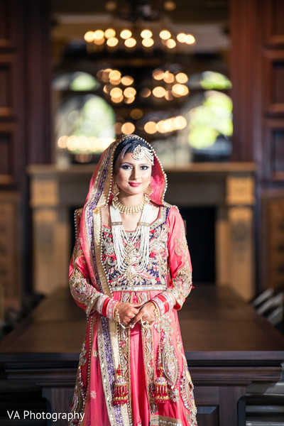 Bridal Portrait in San Jose, CA Sikh Fusion Wedding by VA Photography
