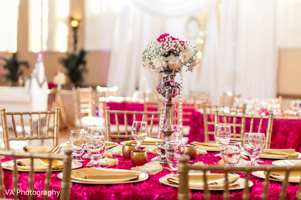 Floral & Decor in San Jose, CA Sikh Fusion Wedding by VA Photography