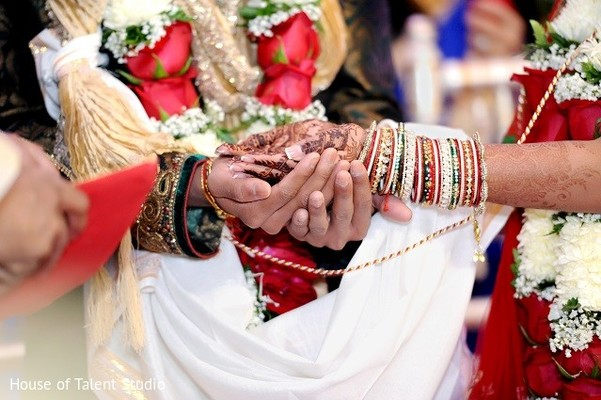 Ceremony in Princeton, NJ Indian Wedding by House of Talent Studio