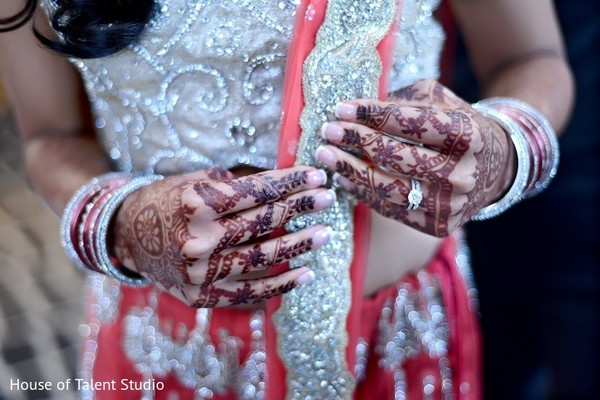 Getting Ready in Princeton, NJ Indian Wedding by House of Talent Studio