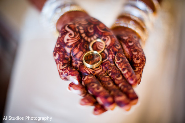 Bridal Jewelry & Mehndi in Malibu, CA South Indian Fusion Wedding by AJ Studios Photography
