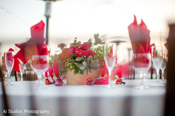 Floral & Decor in Malibu, CA South Indian Fusion Wedding by AJ Studios Photography